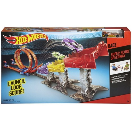 Hot Wheels Super Score Speedway Track Set DJC05 Activity Toy