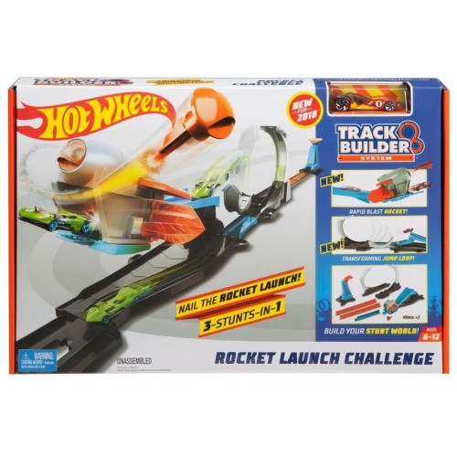 Hot Wheels Track Builder Rocket Launch Set