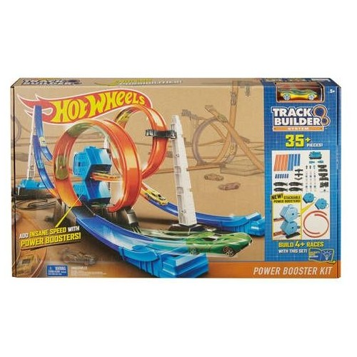 Hot Wheels Track Builder System Power Booster Kit , DGD30