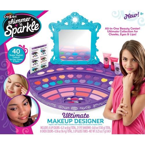Cra-Z-Art Shimmer N Sparkle Ultimate Makeup Designer for Girls - 17551