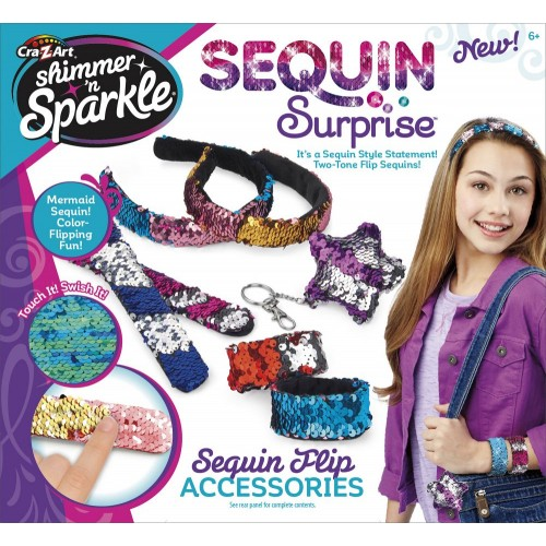 Shimmer N Sparkle Sequin Flip Accessories for Girls - 17808