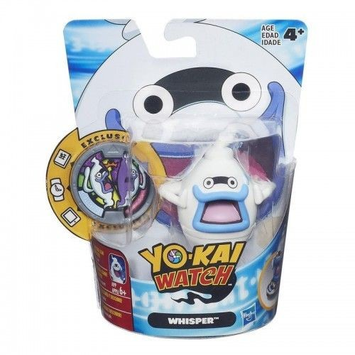 Hasbro Yokai Watch Medal Moments Figure with Medal - Whisper, B5937