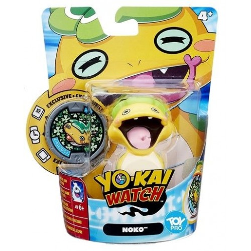 Hasbro Yokai Watch Medal Moments Figure with Medal - Noko, B5937