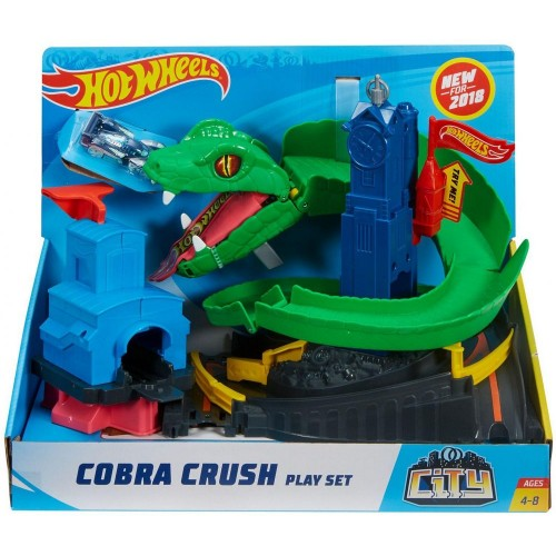 Hot Wheels City Cobra Crush Play Set (FNB20)