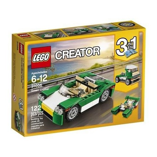 Lego Creator 3 in 1 Green Cruiser 122 pcs 31056