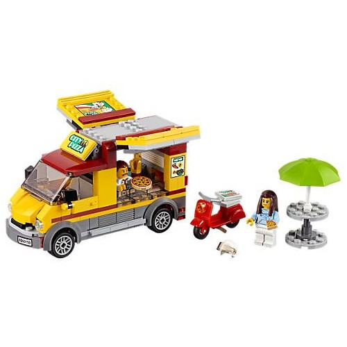 Lego City Great Vehicles Pizza Van Building Toy - 60150