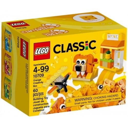 Lego Classic Orange Creativity Box 10709 Building Toy