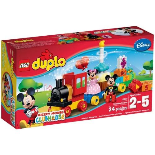 LEGO DUPLO - Mickey & Minnie Birthday Parade 10597