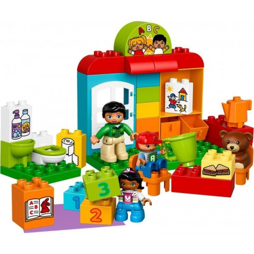 Lego Duplo Town Preschool Building Toy - 10833