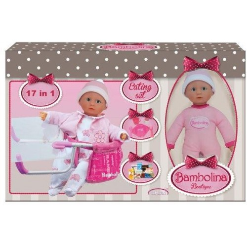 Bambolina Boutique Eating set 17 IN 1 (BD9406TT)