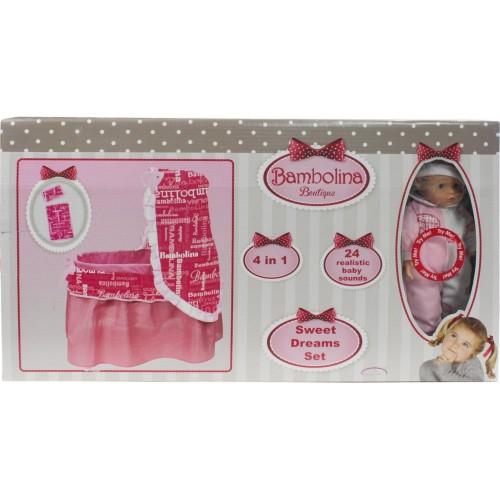 Bambolina sweet dreams set 4 in 1 (BD945)