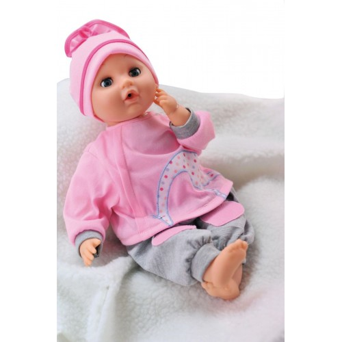 Bambolina doll 40cm with sounds & Accessories (BD308TT)