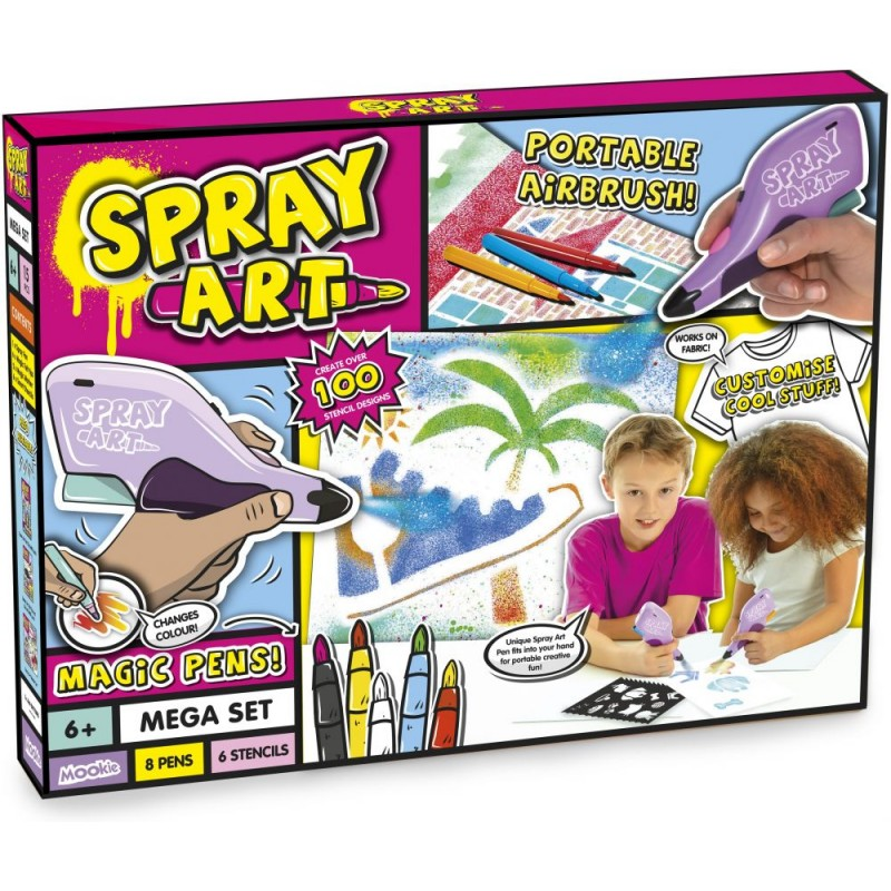 Spray Art Mega Set Deep Box (SA1004)