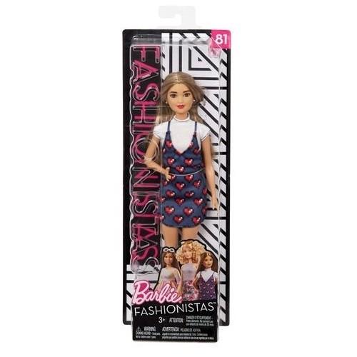 Barbie Fashionistas Doll Toys for Girls, FBR37_FJF46