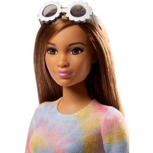 Barbie Fashionistas Doll Toys for Girls, FBR37_FJF42