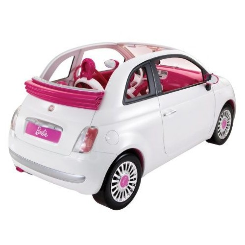 Mattel-Barbie And Fiat 500