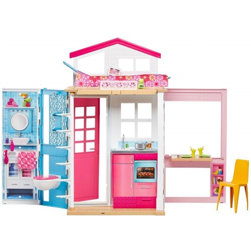 Barbie Two Story House with Furniture & Accessories