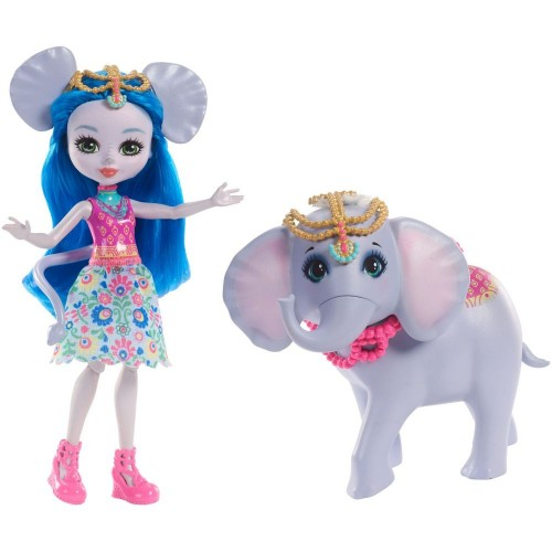 Enchantimals Doll For Girls , 4 Years & Above , FKY72_FKY73