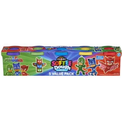 PJ Masks 5 Pack Tub Of Dough (06670)