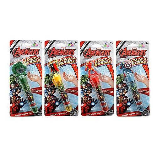 Stack-A-Bubble 269631 Avengers Licensed, Multi Color