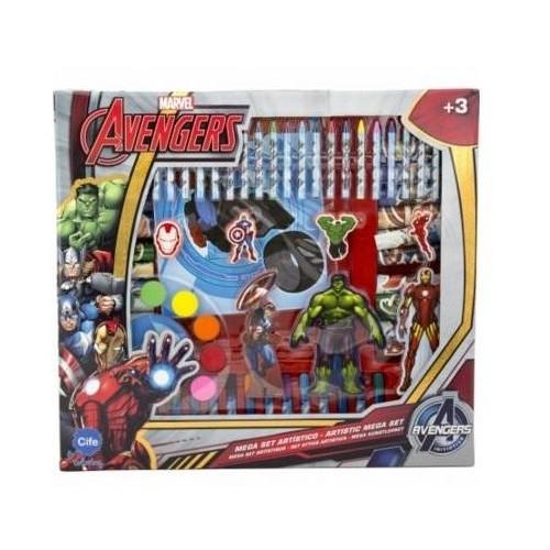 Avenger EX86750 Holographic Artistic Mega Set, Multi Color