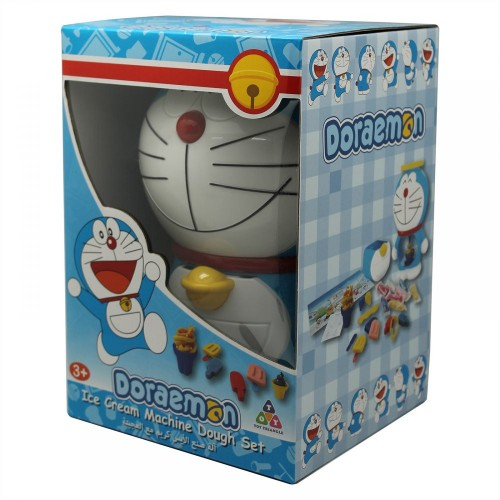 Doraemon Ice Cream Machine Dough Set - 3 Years & Above