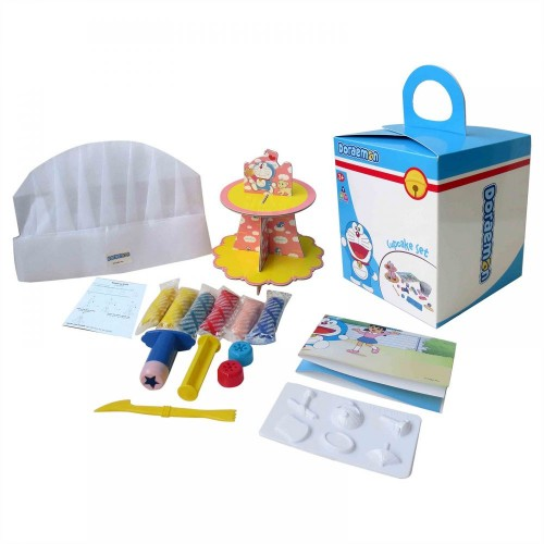 Doraemon Cupcake Set - 3 Years & Above