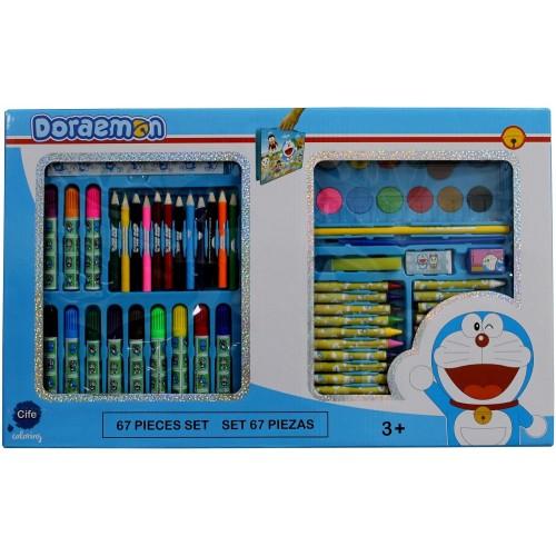 Cife Coloring Doraemon Set 67 Pieces