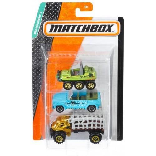Matchbox set of three cars for boys C3713_DJY12