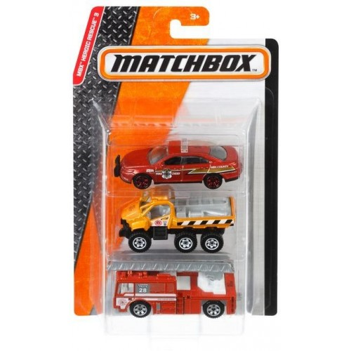 Matchbox three cars set for boys C3713_DJY11