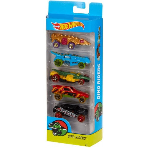 Hot Wheels Dino Riders 5 Pack - Djg23_Dvg02