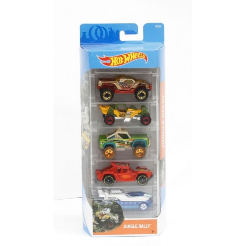 Hot Wheels Jungle 5 Pack- Djg23_Fkt54