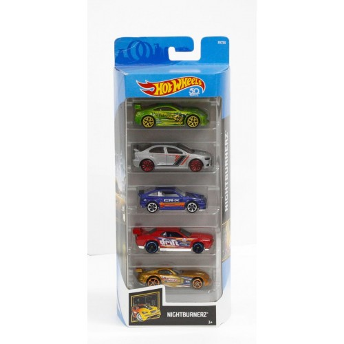 Hot Wheels Nightburnerz 5 Pack - Djg23_Fkt55