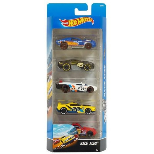 Hot Wheels Race Aces Pack 5- DJD17
