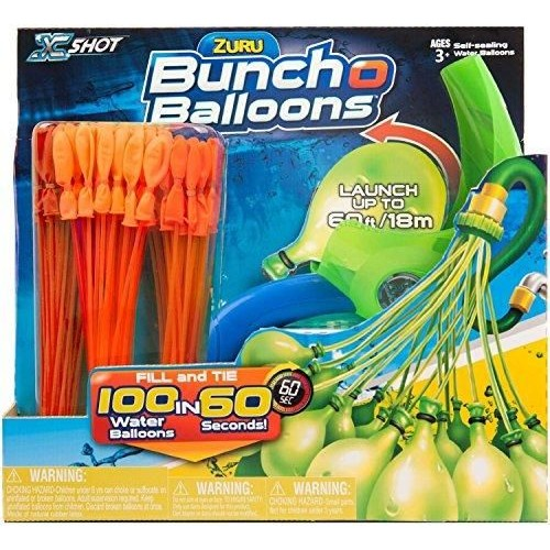 Zuru 01241 Bunch O Balloons 3 Bunches With Lunch, Orange