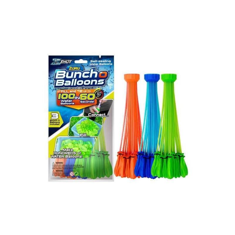 ZURU Bunch O Balloons - Rapid Fill 3PK Foilbag