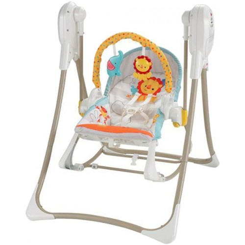 Fisher Price N Rocker Swing Chair - Multi Color, BFH07