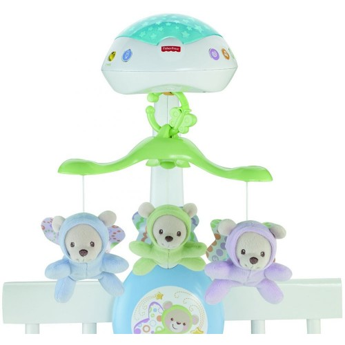 Fisher-Price CDN41 Butterfly Dreams 3 in 1 Projection Mobile