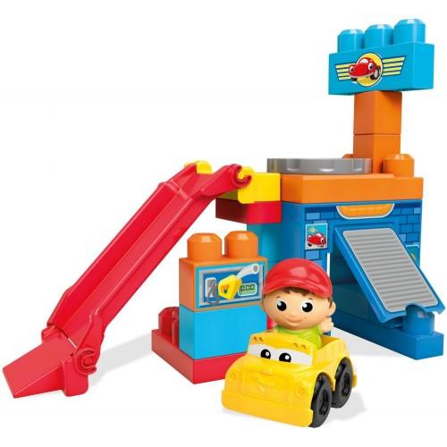 Mega Bloks Spinning Garage, 21 Pcs, DKX87