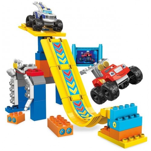 Mega Bloks Blaze Buildable Axle City Monster Dome Set, DXF25