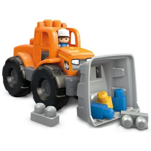 Mega Bloks Transforming Dump Toys, 11 Pcs, FNK75