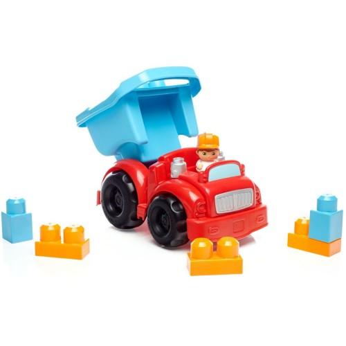 Mega Bloks Dump Truck Toys, 6 Pcs, DYT58