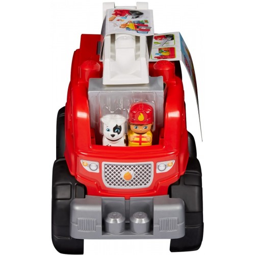 Mega Bloks Fire Truck Rescue Building Set, DXH38