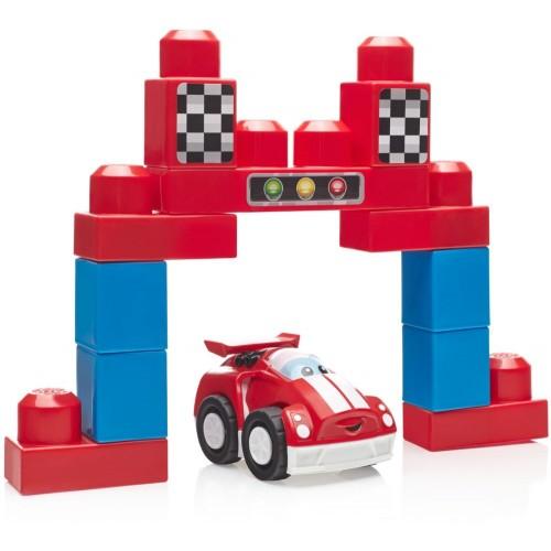 Mega Bloks Speedy Racecar Toys, 14 Pcs, DPY48