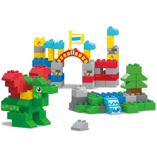 Mega Bloks My Dragon Castle, 110 Pcs, FFG32