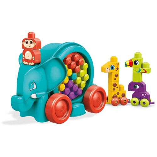 Mega Bloks FFG21 Elephant Parade Building Kit