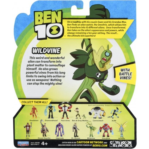 Ben 10 Wildvine Basic Figure 76100E-10