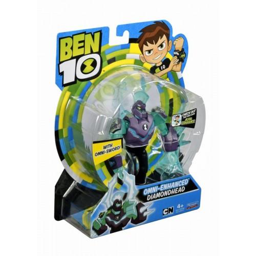 Ben10 Diamond Head Omni-Enhanced Figure (76100-3)