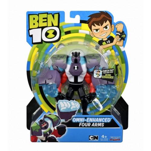 Ben 10 Four Arms Omni-Enhanced Figure (76100-4)
