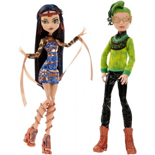 Monster High Boo York Comet-Crossed Couple Dolls